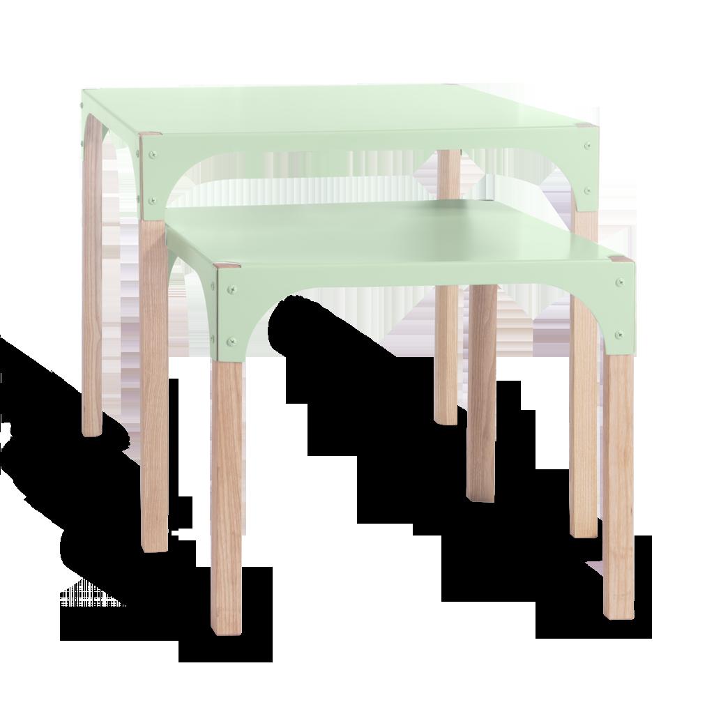 tables pop up by arthur hoffner bibelo mobilier et objets design. Black Bedroom Furniture Sets. Home Design Ideas